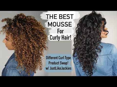 The Best Mousse For Curly Hair Product Exchange With Justlikejackies Biancareneetoday Hair Mousse Curly Hair Styles Curly Hair Mousse