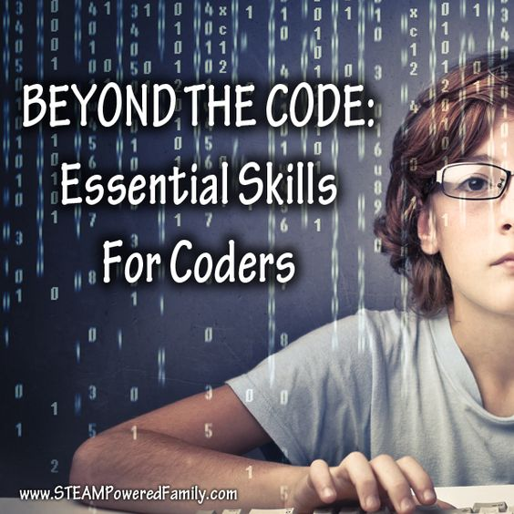 Beyond The Code - Essential Skills For Coders. Prepare your child for a successful career in computer programming and coding with these essential skills beyond programming languages.