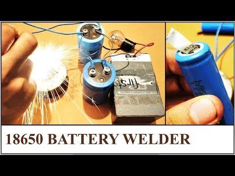 How To Make Battery Spot Welder Cheap Capacitor Welding Diy Youtube Spot Welder Welders Welding