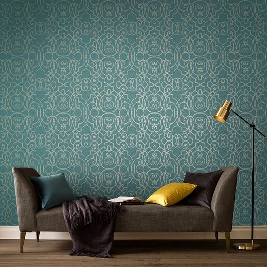 Shoji Jade Wallpaper Large Brown Wallpaper Basement Bathroom Design Graham Brown