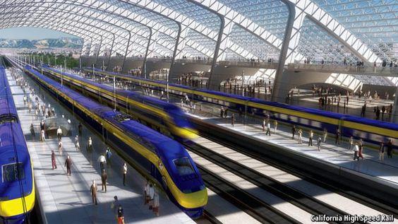 California high-speed rail: Wobbling on its tracks | The Economist