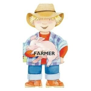 Farmer (Mini People Shape Books) - Giovanni Caviezel, from Eliza Henry in Archbold, Ohio.