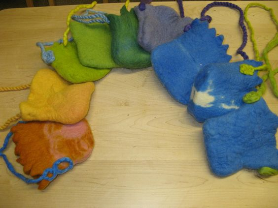 felted bags 2nd grade