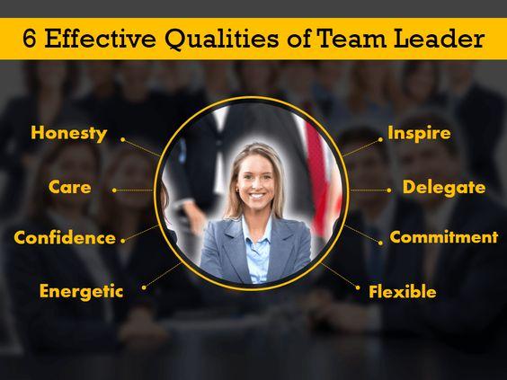 team leader qualities