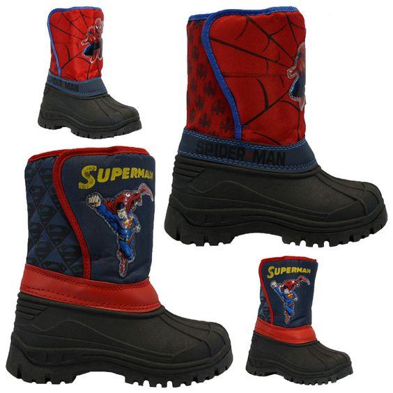 Kids boys spiderman #winter snow moon mucker #waterproof wellington #wellies boot,  View more on the LINK: http://www.zeppy.io/product/gb/2/251347248803/