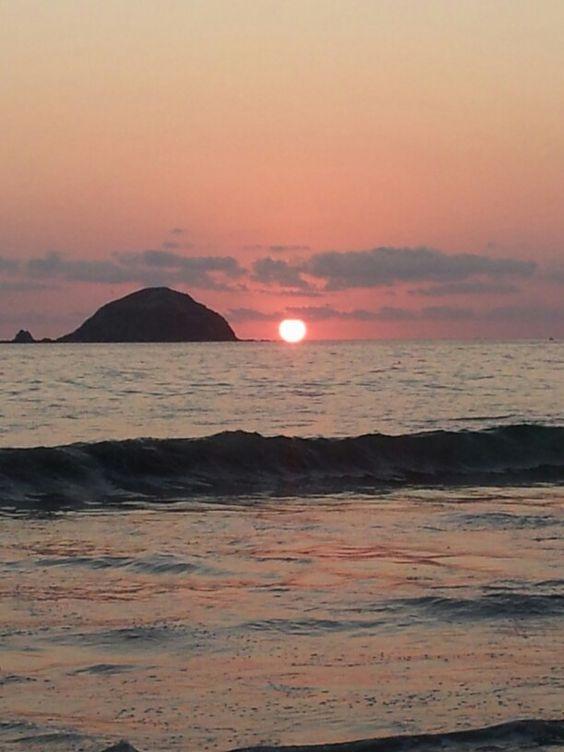 Amazing sunset @ Ixtapa Mexico