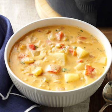 Roasted Pepper Potato Soup | Recipe | Potato Soup Recipes, Potato Soup ...
