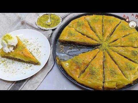 في 10 دقائق اطيب و انجح و اسرع صينية بقلاوة في المنزل اطيب من الجاهز Youtube Arabic Sweets Sweets Desserts
