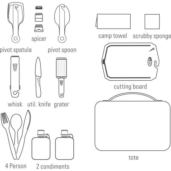 GSI Destination Kitchen Set 24 - Küchenset günstig kaufen im outdoortrends Shop