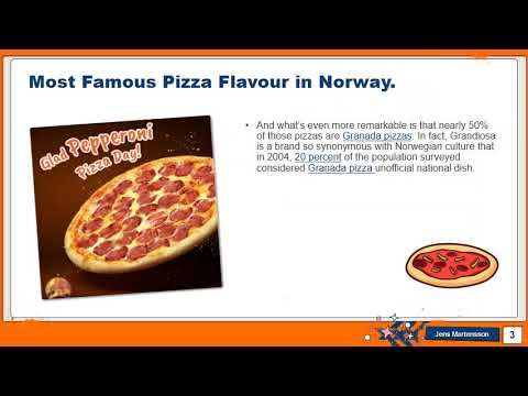 Most Famous Pizza Oslo Pizza Flavors Pizza Food