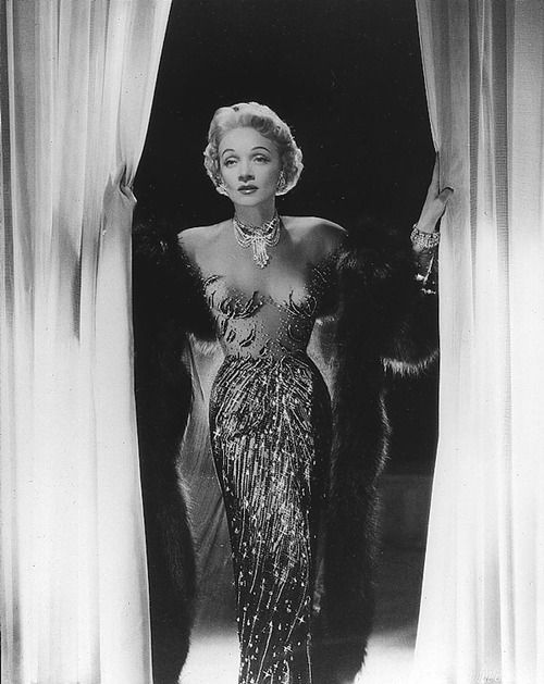 """I am not a myth."" —Marlene Dietrich"