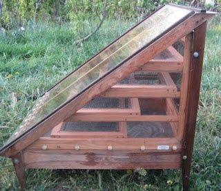 Solar Food Dehydrator garden-stuff