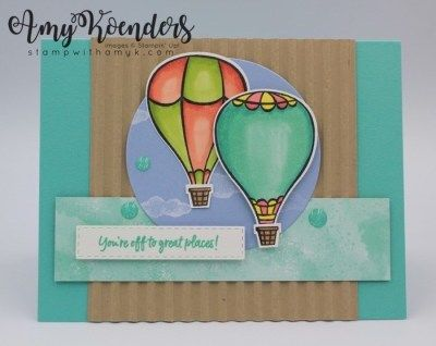 Stampin' Up! Above The Clouds Card For The Happy Inkin' Thursday Blog Hop – Stamp With Amy K