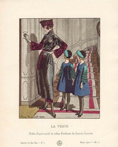 Gazette du Bon Ton Jeanne Lanvin - Viviane LE HOUEDEC - Picasa Albums Web