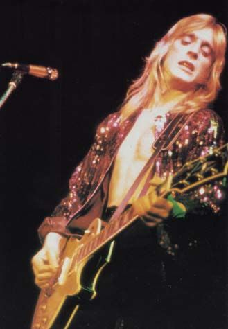 Mick Ronson .....did amazing work with David Bowie and Ian Hunter as well as in his solo career