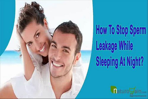 You can find more about the how to stop sperm leakage while sleeping at  http://www.naturogain.com/product/semen-discharge-in-urine-treatment/  Dear friend, in this video we are going to discuss about the how to stop sperm leakage while sleeping. No Fall capsules and Maha Rasayan capsules help to stop sperm leakage while sleeping at night.
