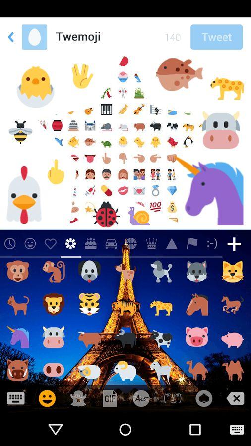 Twemoji pour Emoji Keyboard– Capture d'écran