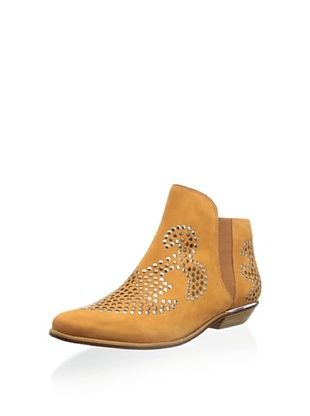 50% OFF Schutz Women's Aloise Studded Ankle Boot (Amber)