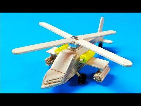 Como Hacer Un Helicoptero Casero Con Palitos De Madera Youtube Como Hacer Un Helicoptero Palitos De Helado Manualidades Con Palitos De Helado