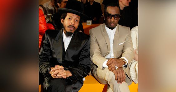 Diddy & Shyne Reunite at Paris Fashion Week