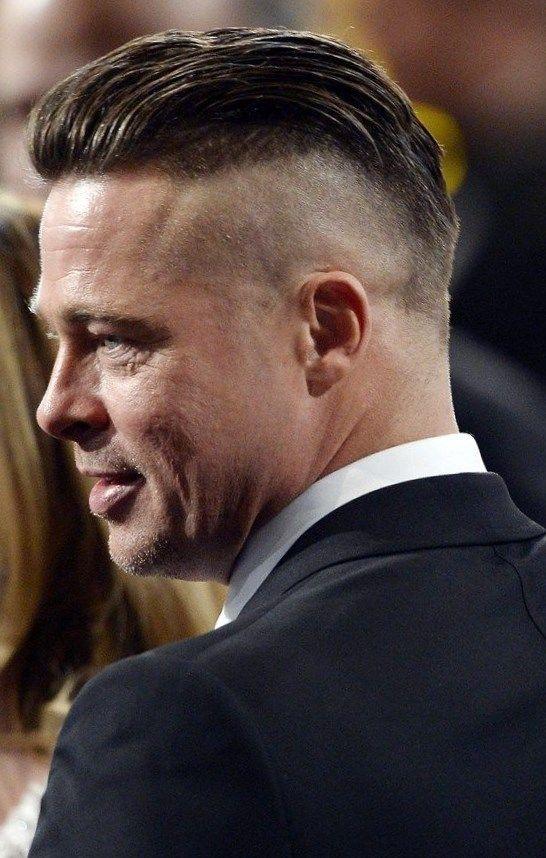 Brad Pitt Haare Frisuren Trendfrisuren2019 Frisurideen Neuefrisur Style Haarschnitt Brad Pitt Haarschnitt Frisur Undercut
