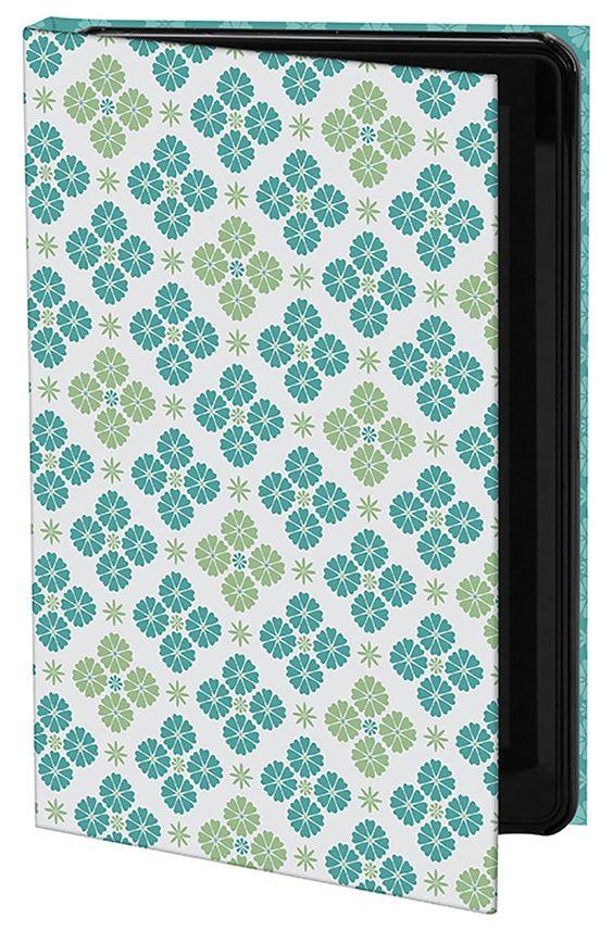 "Keka: Designer iPad Cases – ""Retro Geo Tile"" by Rebecca Stoner"