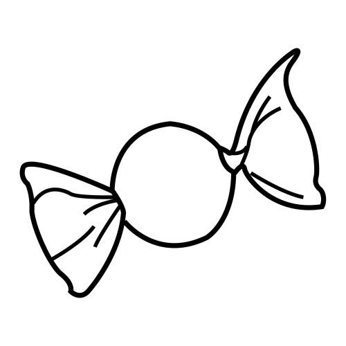 Caramelo Colorear Coloring Pages Cute Kawaii Drawings Kawaii Drawings