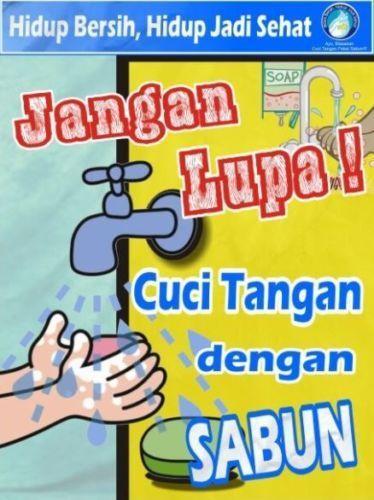 Gambar Poster Cuci Tangan Untuk Mencegah Covid 19