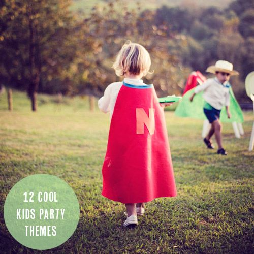 12 cool kids party themes