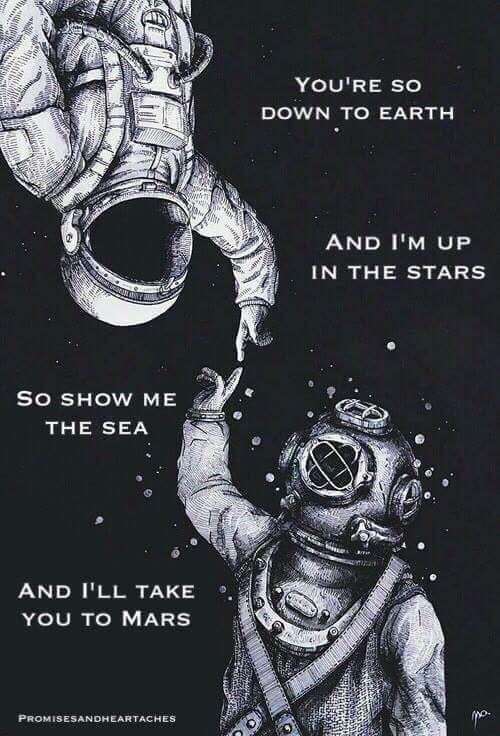 Show Me the Sea & I'll Take You to Mars