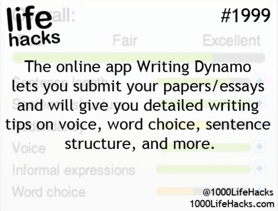 Writing on line