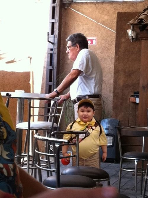 'Up' characters in real life
