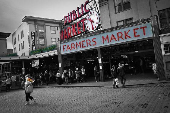 The #Seattle Public #Market!