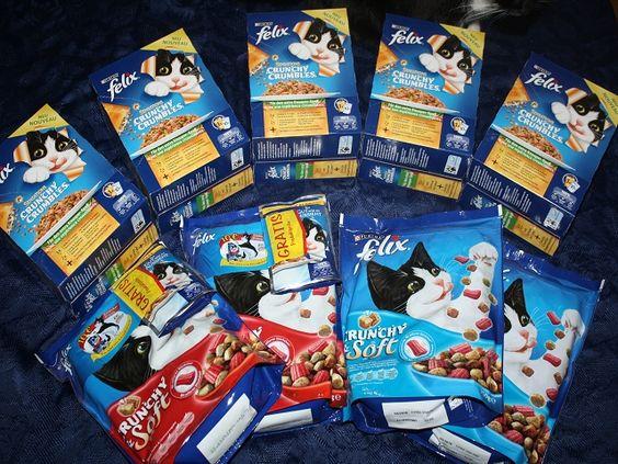 Dieses Mal durften unsere Katzen knuspern und schlemmen:  http://www.tarisa.de/unsere-leckermaeulchen-durften-knabbern-und-schlemmen/  #Katzen #Katzenfutter #Felix #crunchy #Sponsored
