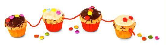 Mini-Muffins-Schlangen für Kinder Rezept | Dr. Oetker