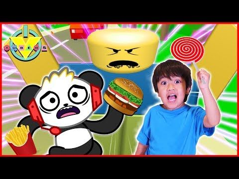 Ryan Family Review Roblox Natural Disaster Roblox Eat Or Die I Want Candy Let S Play With Ryan Toysreview Vs Combo Panda Youtube Panda Coloring Pages Roblox Family Game Night