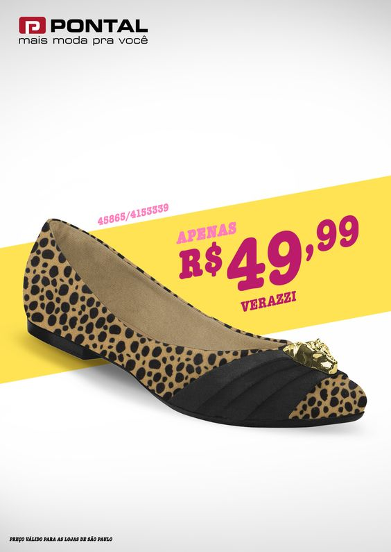 Animal Print, a tendência que nunca sai de moda agora também nos sapatos #Animalprint #Pontalfashion
