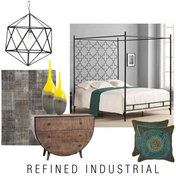 Refined Industrial By Adore Interiors On Polyvore