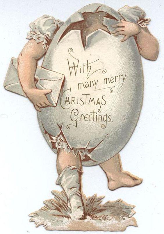 """With many merry Christmas greetings"" (via TuckDB Ephemera):"