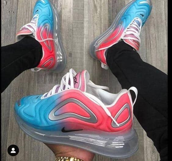 air max 720 femme rouge