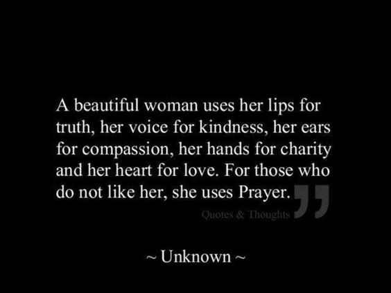 Prayer and the characteristics of a Godly woman-