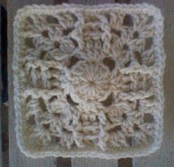 Pineapple Sun Square - Cool pattern.  Wonder what it would look like in a lighter thread.