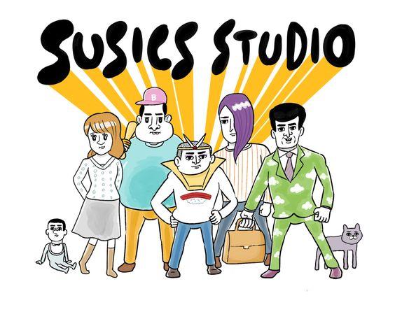 Osushi Muroki(室木おすし) http://www.susics.com/