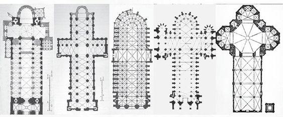 Gothic Architecture Floor Plan Buscar Con Google Croquis