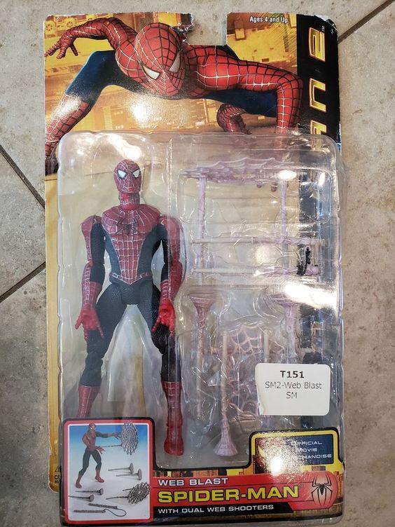 6/'/' Rare Marvel Legend The amazing Spider-Man Action figure Xmas gift movie boy