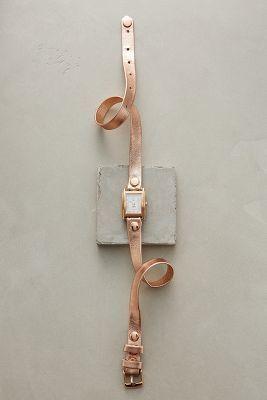 La Mer Rosegold Cuff Watch