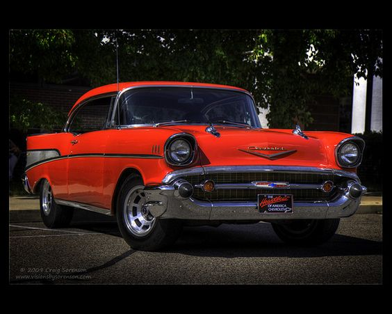 1957 Chevy Bel Air    This red hot '57 Chevy Bel Air is proudly owned by Mark Bowsher.