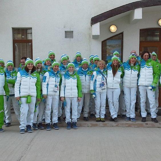 Slovenian Olympic team