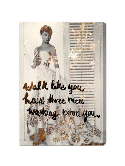 Walk Like You Have (Canvas) by Oliver Gal at Gilt