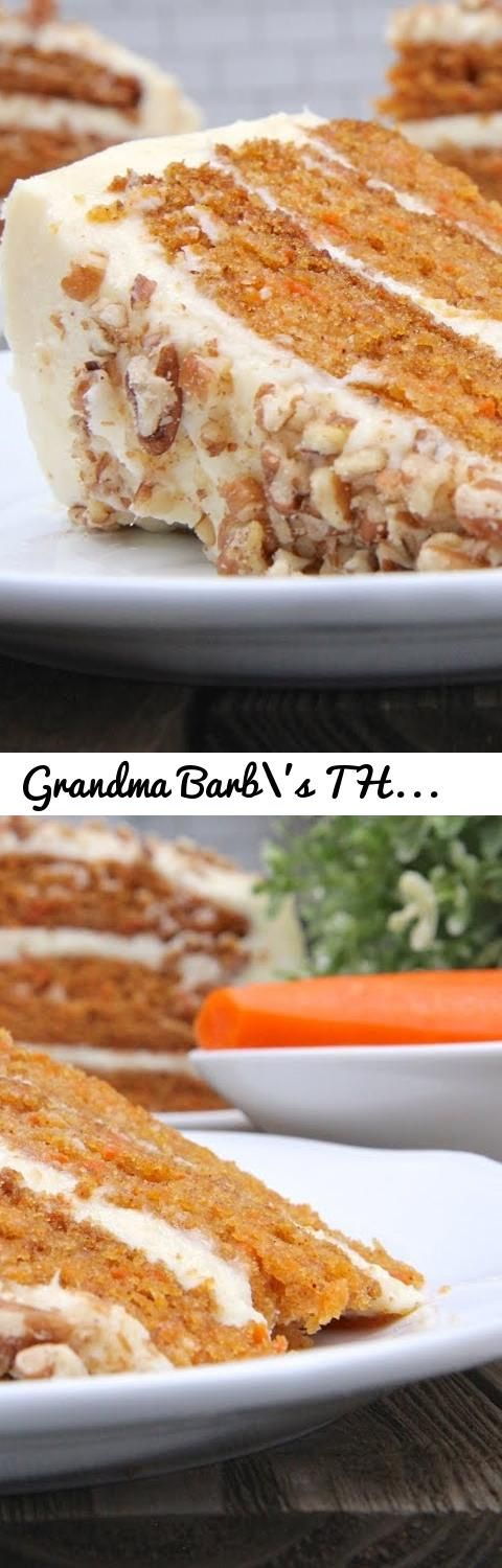 Grandma barbs the bomb carrot cake recipe tags carrot cake tags carrot cake carrot cake recipe cream cheese frosting carrot cake frosting divas can cook divascancook recipe cooking video cooking channel forumfinder Choice Image